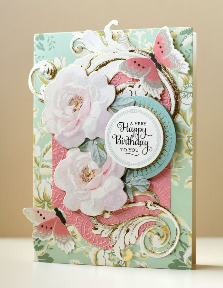 The Paper Boutique: Anna Griffin Garden Window Card Making Kit Review
