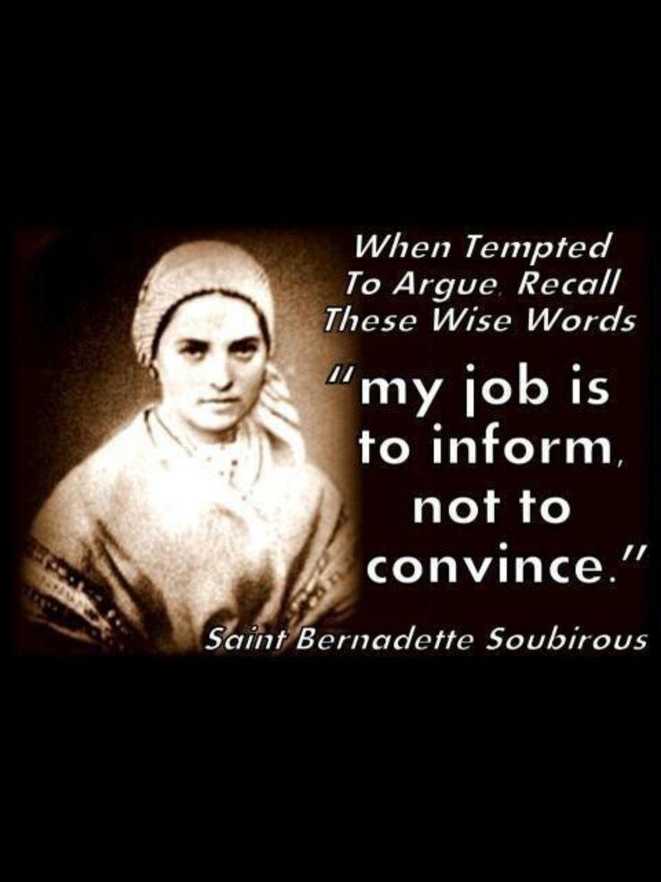 Saint Bernadette Soubirous ~ Mystic and Visionary