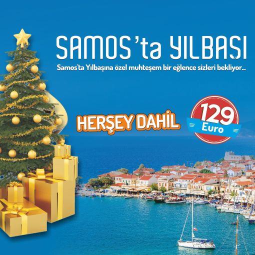 Tatillimani farkıyla Yılbaşına Özel Samos Paket Turu !!!