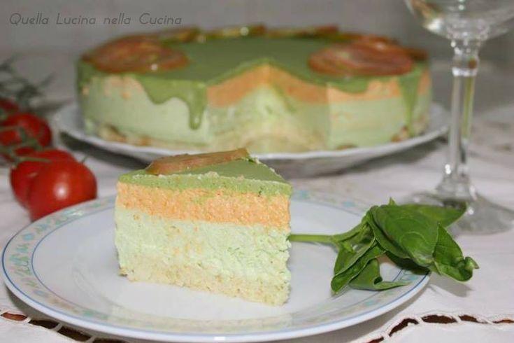 Torta fagiolini e pesto