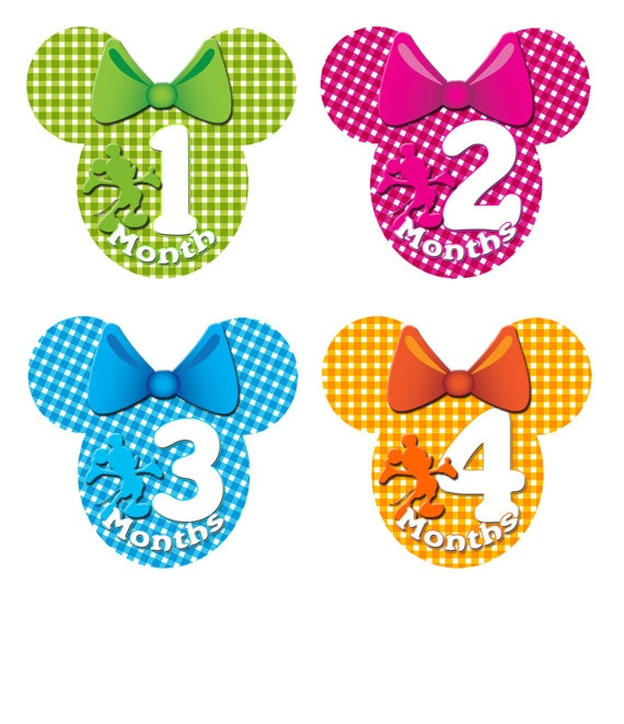 Lime Pink Teal & Orange Disney Minnie Mouse by deeneysdesigns, $9.99