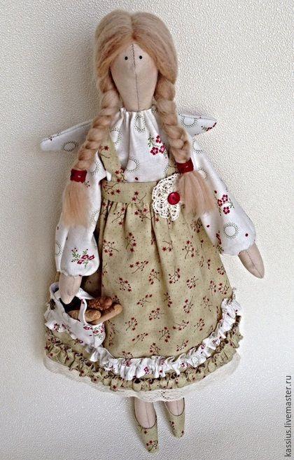 Куклы Тильды ручной работы. Ярмарка Мастеров - ручная работа. Купить Кухонная фея ( ангел тильда ). Handmade.