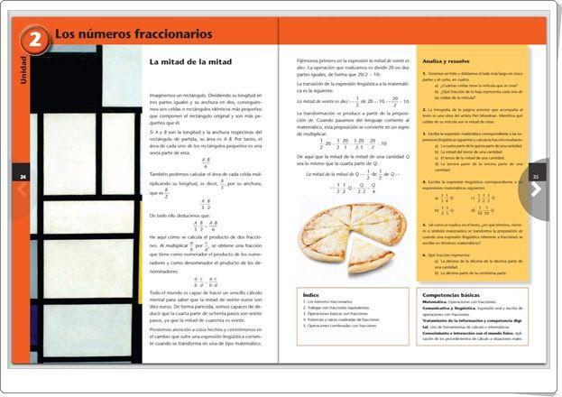 """Unidad 2 de Matemáticas de 2º de E.S.O.: """"Los números fraccionarios"""""""