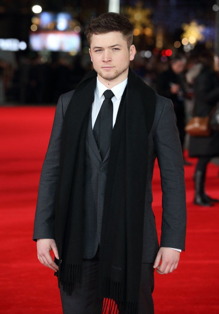 Pin for Later: Taron Egerton Is Kingsman: The Secret Service's Breakout Star Now, print this out and put it up on your cubicle wall. Because basically, he's about to be a really big deal.