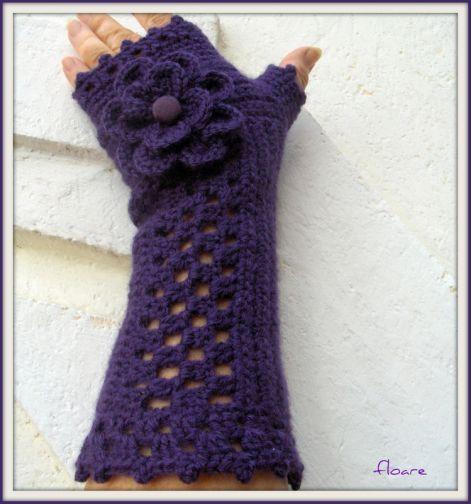 Kézmelegítők - ujjatlan kesztyűk - A horgolt kiegészítők öltöztetnek, egyedivé tesznek.  Kalapok, sapkák, sálak, kesztyűk és ékszerek!
