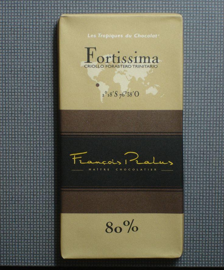 François Pralus 80% cocoa. Excellent!