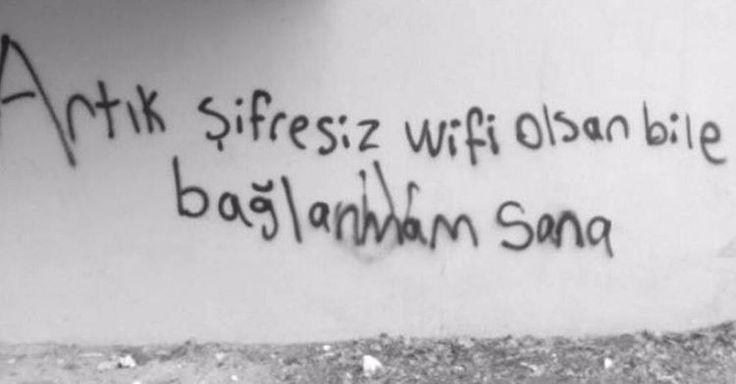 Artık şifresiz Wifi olsan bile bağlanmam sana.  #sözler #anlamlısözler #güzelsözler #manalısözler #özlüsözler #alıntı #alıntılar #alıntıdır #alıntısözler #şiir