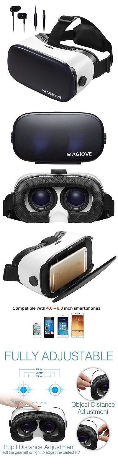 3D TV Glasses and Accessories: Magiove 3D Vr Glasses Virtual Reality Headset Best Mobile Phone 3D Movies For... BUY IT NOW ONLY: $30.82
