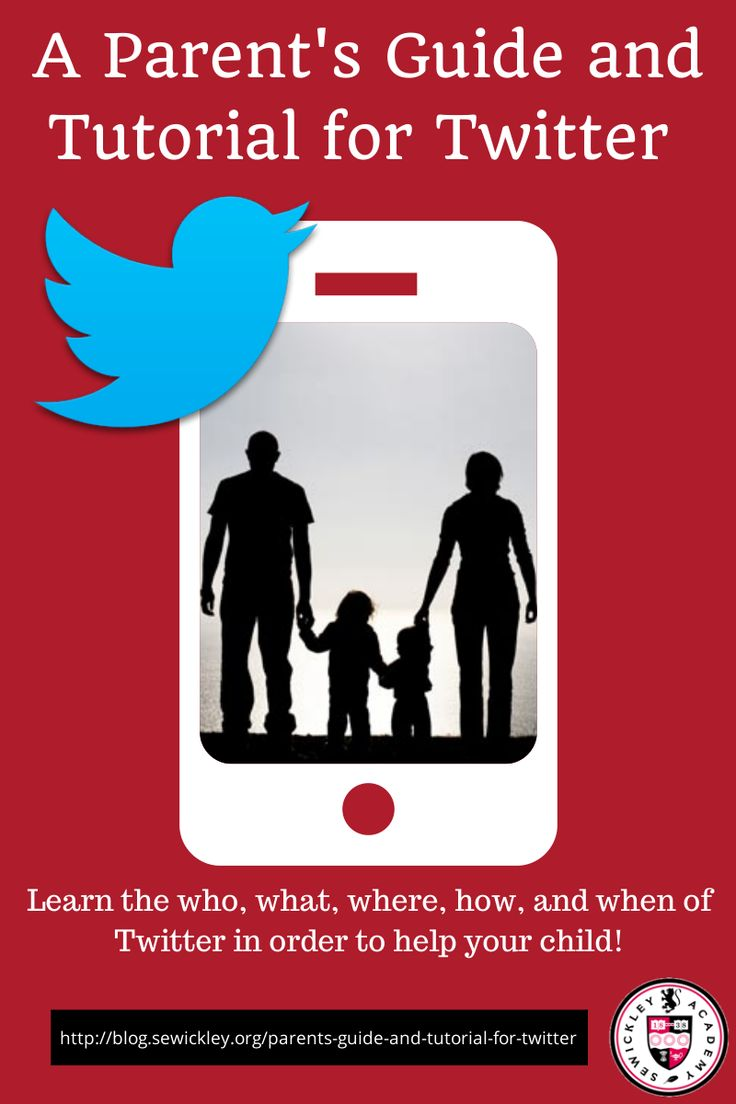 A Parent's Guide and Tutorial for Twitter - Learn the what, history, and vocabulary of Twitter. Also learn how to set-up a Twitter account for yourself. #pittsburgh #parents #socialmedia  Read: http://blog.sewickley.org/parents-guide-and-tutorial-for-twitter