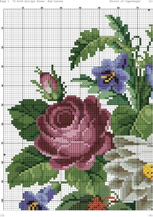 Gallery.ru / Фото #4 - 169 - kento / antyczne róże i czerwone liście 3/6