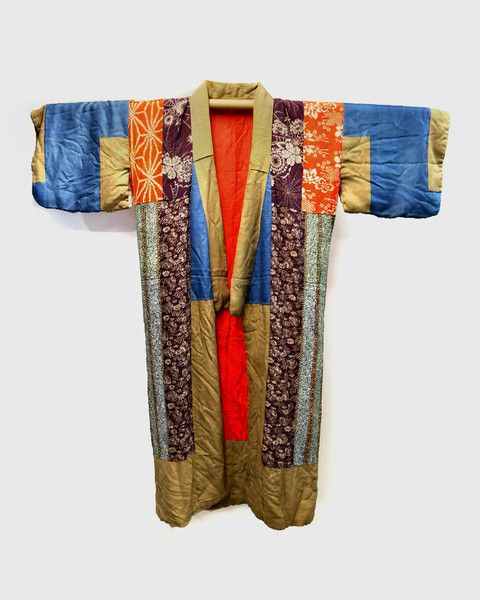 Share us on social media and get a 15% off promo code!  Vintage Kimono(着物): Patchwork