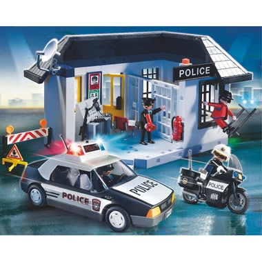 playmobil police station - Google Search