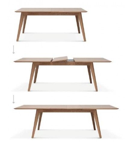 Table extensible noto with bjursta table extensible for Table extensible ikea bjursta brun noir
