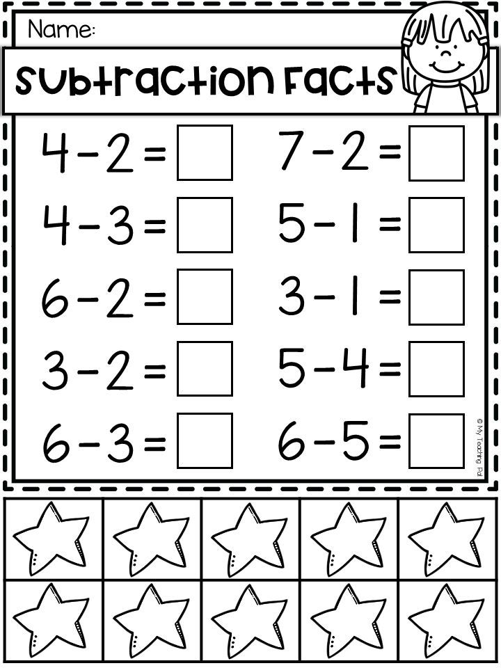 Addition And Subtraction Worksheets To 10 With Counters With