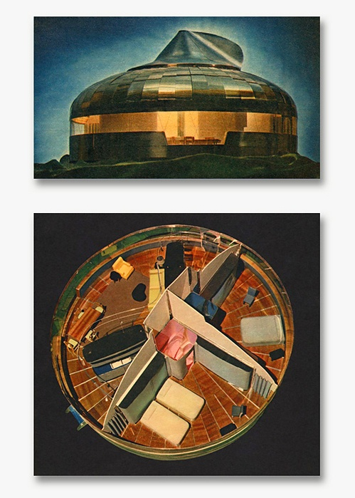 Dymaxion House – R. Buckminster Fuller. Aqua-Velvet.