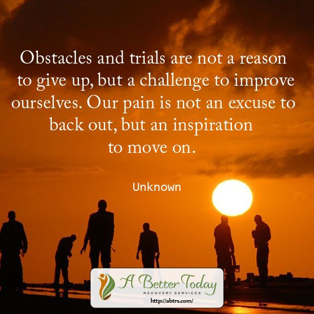 the different obstacles i faced in my life Obstacles in life: do you feel like something is holding you back curious about how to ovecome the obstacles you face below is a quick list of 12 different types of obstacles you may face in life, along with how you need to respond to overcome them.