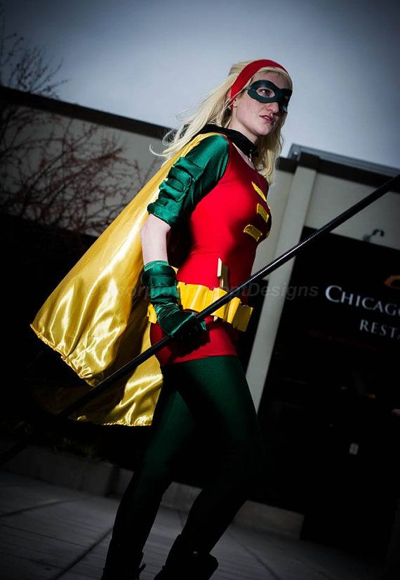 Stephanie Brown Robin Batman Cosplay Costume by snlmoehunt on Etsy, $575.00
