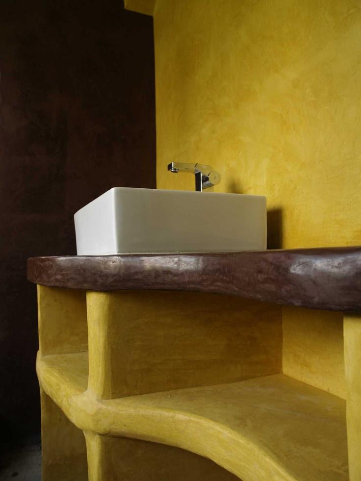 223 best tadelakt images on pinterest bathrooms cob. Black Bedroom Furniture Sets. Home Design Ideas