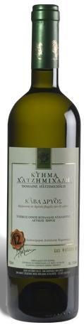 Κάβα Δρυός, Λευκός ξηρός 2013 (Chardonnay, Ασύρτικο και Μαλαγουζιά), Κτήμα Χατζημιχάλη, Άη-Γιώργης-Αταλάντη.