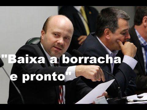 """""""Baixa a borracha e pronto"""", diz deputado Marlon Santos sobre confronto ..."""