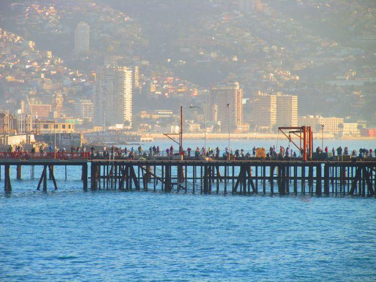 puerto de caleta portales/ valparaíso