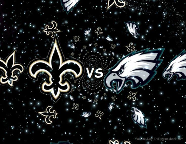 Saint's VS Eagles
