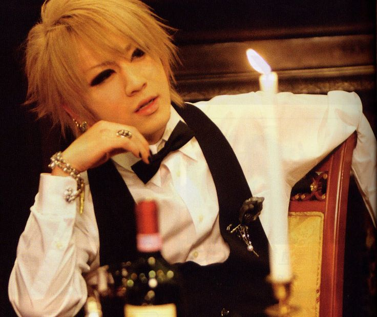 Ruki. Vocals. The GazettE. Silly God Disco.