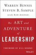 In The Art and Adventure of Leadership, Warren Bennis and Steven B. Sample relay content from a leadership course they taught together at the University of Southern California. Told through the words of Rob Ashgar, the book shares many of the leadership themes frequently discussed in their class.