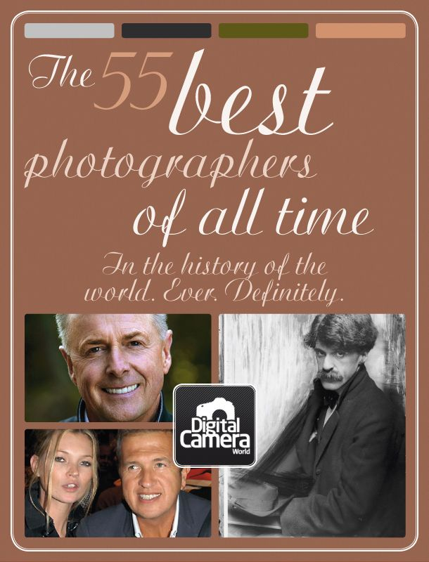 The 55 best photographers of all time. In the history of the world. Ever. Definitely.