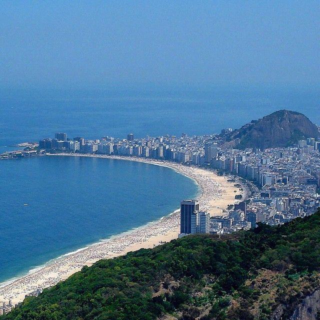 Rio's infamous Copacabana Beach. Photo courtesy of monoubani on Instagram.