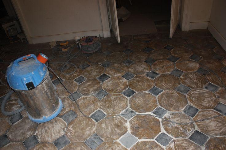 pavimento in cementine_dopo_carteggiatura