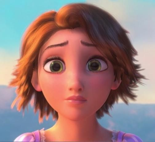 Rapunzel from Tangled.  I'm afraid my hairdresser would probably look at me a little funny if I brought in a picture of a cartoon character...