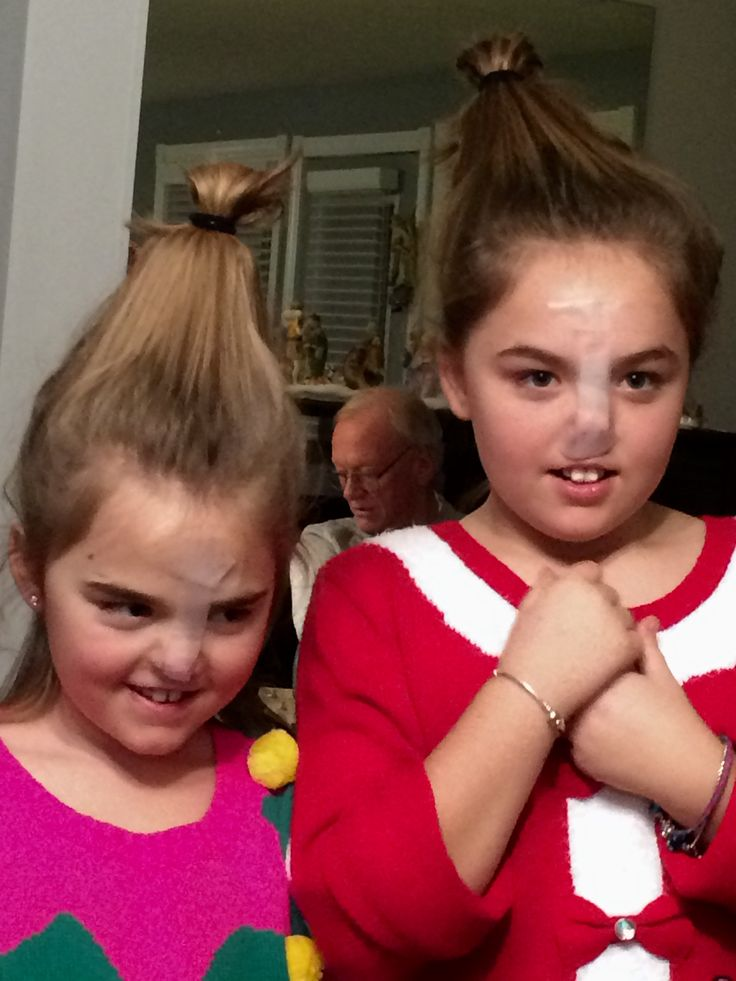 Artful Adventures - cracks These two dresses as 'Whoville' characters from the Grinch movie cracks me up every time I see it! (My great-nieces)