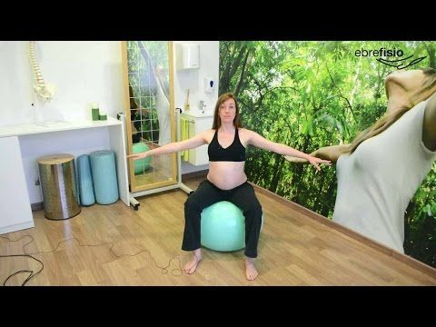 Embarazadas | Ejercicio para suelo pelvico y piernas hinchadas - YouTube