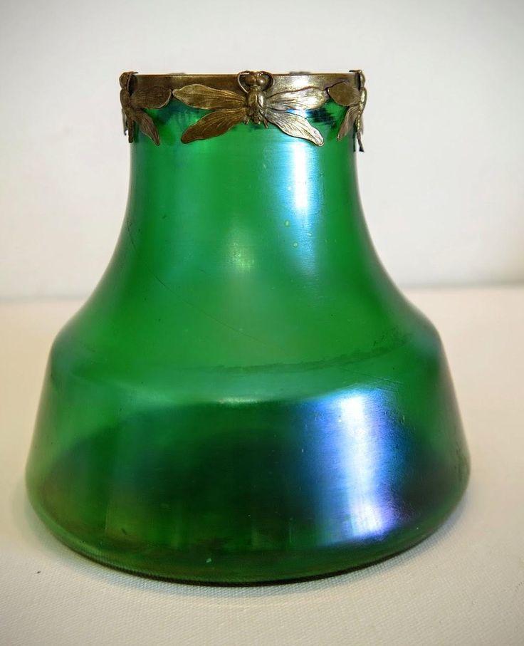 578 best vidrio loetz images on pinterest glass vase - Moderne glasvasen ...