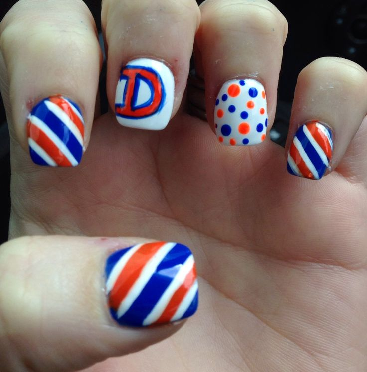 The 25 best broncos nails ideas on pinterest funny audio denver bronco nails prinsesfo Gallery