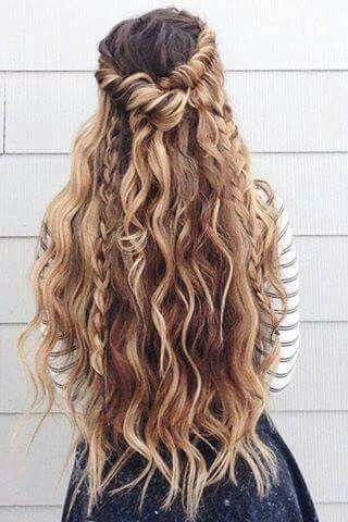 #longhair #trenzas #pelolargo #peinados #ohmywow