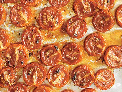 Slow-Roasted Grape Tomatoes