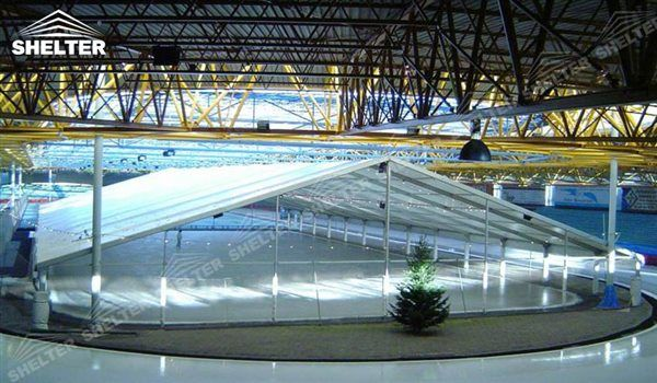 SHELTER Sports Tents for Tennis Court Cover/ Ice Rink/ Skate Rink