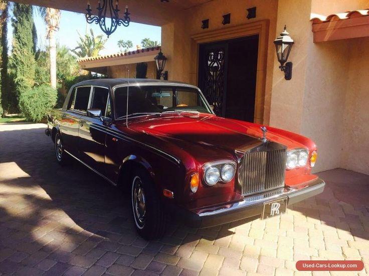 1977 Rolls-Royce Wraith #rollsroyce #wraith #forsale #canada