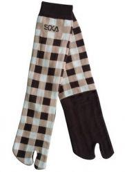 Kaos kaki soka essential corak square warna coklat. Harga Rp. 19.900 / pcs. BBM 7D21F5CE SMS/WA/TLP 085736030048