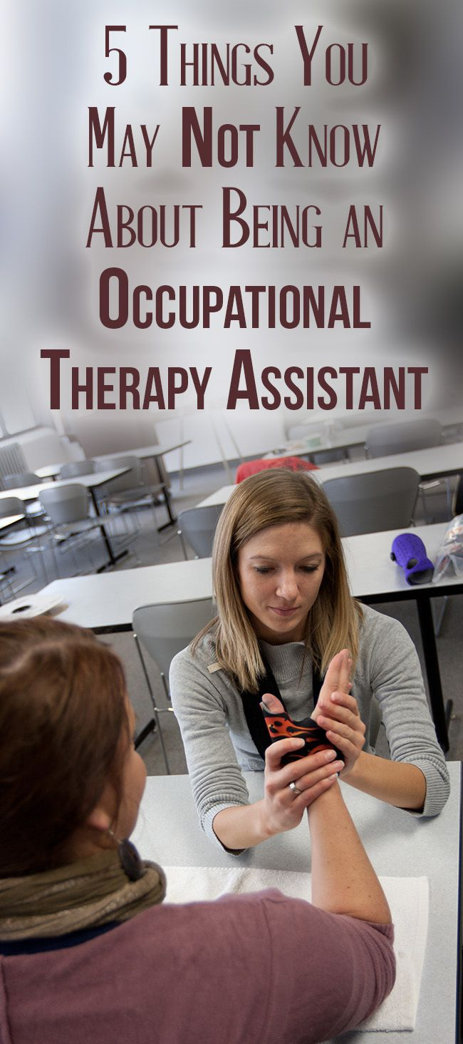 17 best ideas about occupational therapy assistant 5 things you not know about being an occupational therapy assistant pinned by treatment plans and patient handouts for the ot working physical