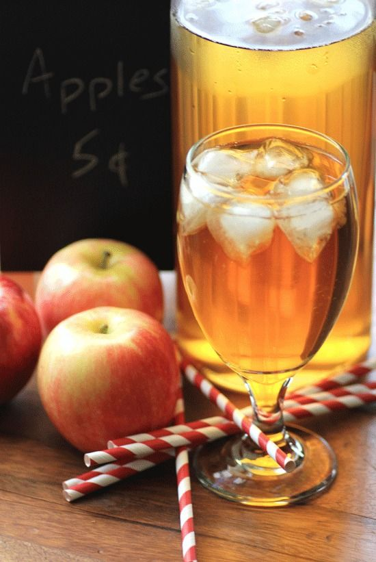 Apple Mint Iced Tea