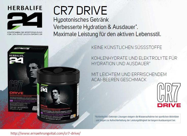 CR7 Drive (Cristiano Ronaldo) - ein modernes, hypotonisches Getränk für verbesserte Hydration und Ausdauer