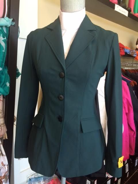 RJ Classics Monterrey Softshell Hunter Green Show Jacket – Willow Equestrian - online tack store