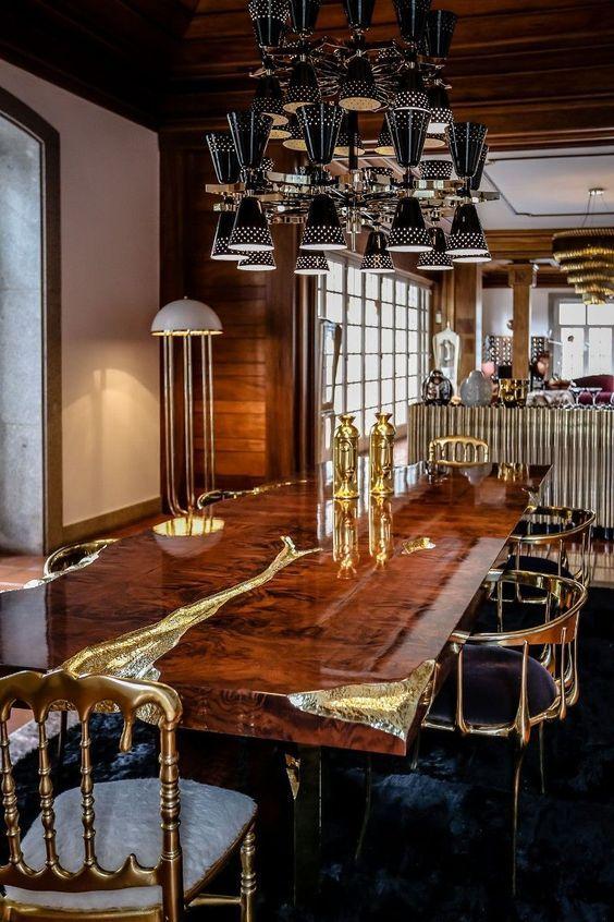 Exquisite Dining room Décor Ideas! www.bocadolobo.com moderndiningtables.net #designlimitededition #disegnideas #decorationideas #decorideas #design #homedesign #hoteldecoration #hoteldesign #interiordesign #interiordecorationideas