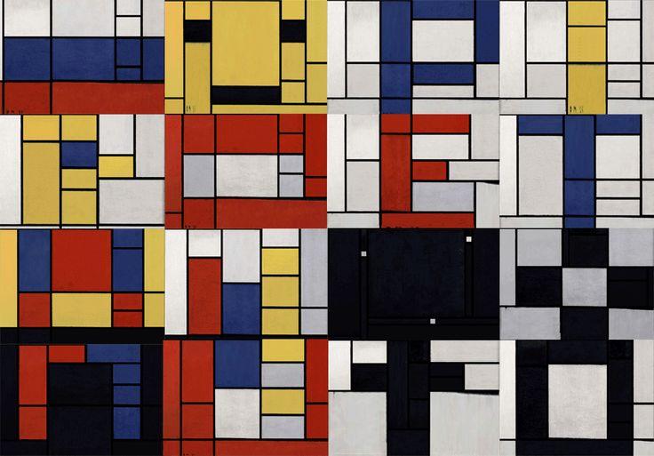 Mondrian App #resource #art #webapp: Educa Recurso