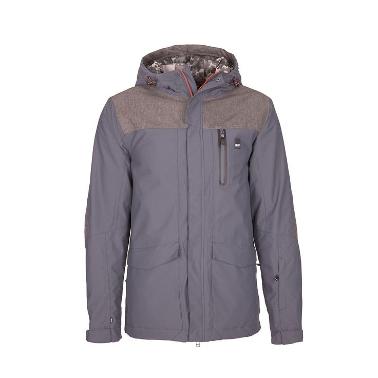 Water-resistant urban winter jacket, highly breathable, ready to put on during your city walks on cold, rainy days.