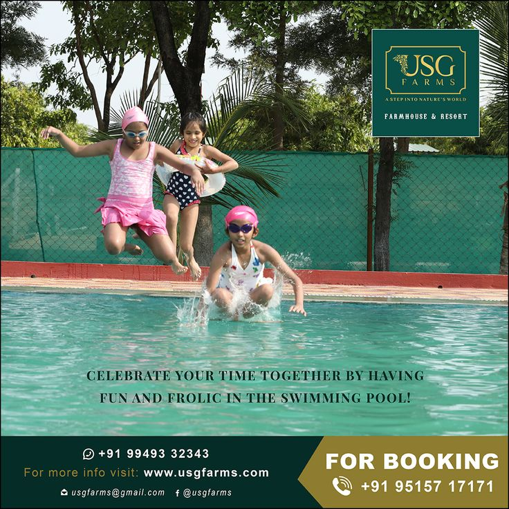 Best farmhouse and Resort In Hyderabad Swimming pools