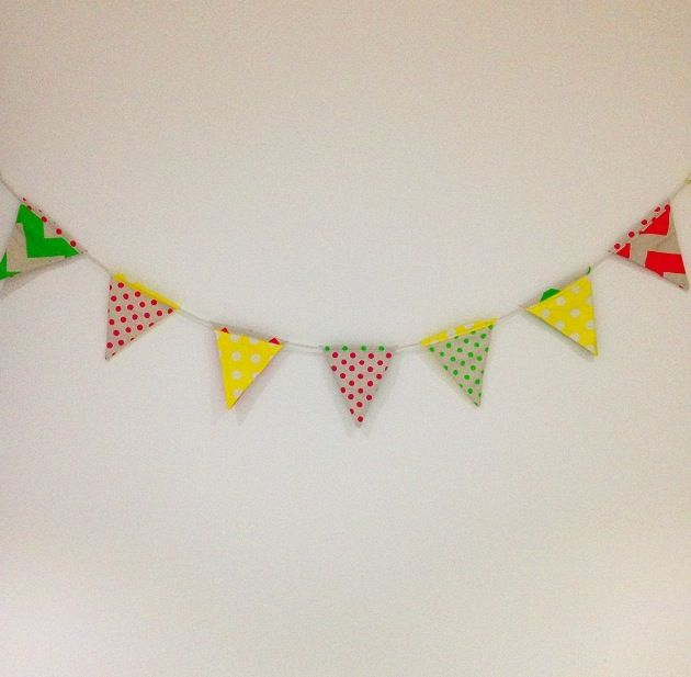 'Westmead' Bunting - This package was donated to The Westmead Children's Hospital, for an auction to raise money for Kids Rehab. Needless to say, this one has a very special place in our hearts.